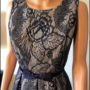 Review navy lace dress size 8